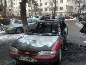 Fordul Mondeo, distrus de flăcări