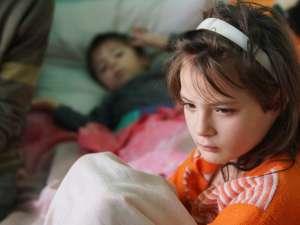 Andreea, un copil trist şi împovărat