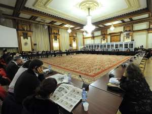 Persoanele nominalizate ca miniştri în Cabinetul Ungureanu au fost audiate în comisiile parlamentare. Foto: MEDIAFAX