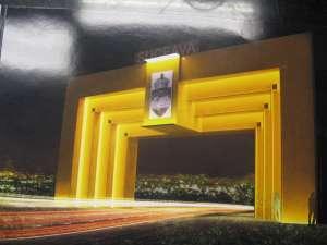 Cum va arăta poarta care va fi amenajată la intrarea în Suceava dinspre Falticeni