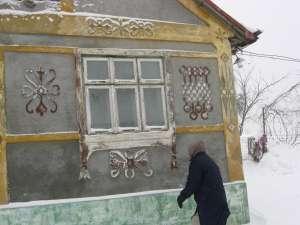 Casa în care au murit cei doi