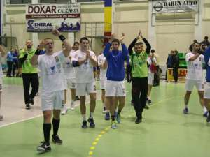Universitatea a pierdut la trei goluri în Croaţia, dar a obţinut a treia calificare în sferturile Challnge Cup, graţie victoriei la 11 goluri din tur