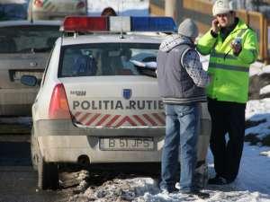 Poliţiştii rutieri au dat amenzi de aproape 110.000 de lei, în trei zile de controale