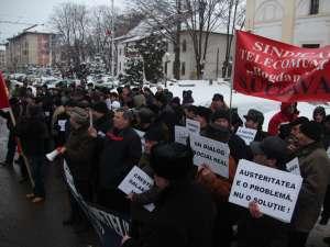 Protestul BNS si Cartel Alfa