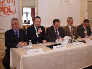 Liderii PD-L Suceava au fost prezenţi la deschiderea cursurilor de management politic