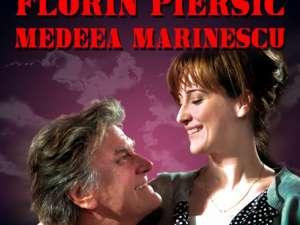"""Pe 20 martie este programat spectacolul """"Străini în noapte"""", cu Florin Piersic şi Medeea Marinescu"""