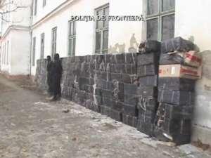 Ţigări de peste 250.000 de lei au fost capturate de poliţiştii de frontieră weekendul trecut