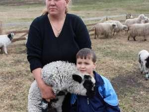 Ionela Atodiresei: Cu multă muncă se poate trăi şi din oierit
