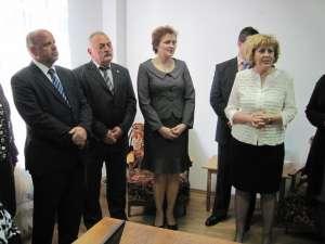 Inaugurarea punctului de lucru din municipiul Rădăuţi