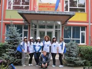 90 de tineri din Suceava, Bălţi şi Cernăuţi, într-o reţea de voluntari împotriva infracţionalităţii transfrontaliere