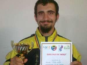 Iulian Fodor a devenit campion naţional în concursul de tehnică, grade