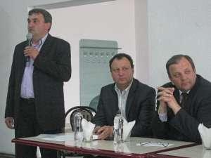 Gheorghe Flutur s-a întâlnit cu locuitorii din zona Dornelor