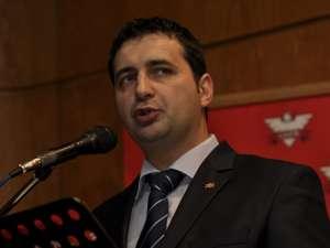 Candidatul UNPR pentru funcţia de primar al Sucevei, Adrian Macovei
