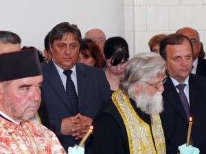 Primarul Vasile Tofan şi preşedintele CJ,Gheorghe Flutur, prezenţi la eveniment