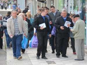 Ion Lungu s-a întâlnit cu cetăţenii din cartierul George Enescu