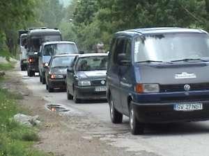 Constantin Baroiu a iniţiat un marş auto pentru a trage un semnal de alarmă despre problemele din Broşteni