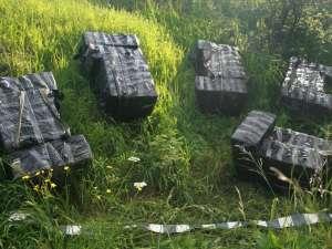 Colete abandonate în care erau 9.450 de pachete cu ţigări de provenienţă ucraineană