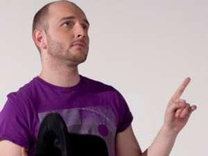 Cătălin Bordea este cotat drept cel mai tare realizator de stand-up comedy din România