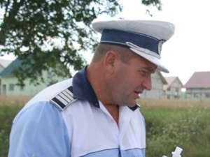 Când s-a produs tamponarea, agentul-şef Sorin Voroniuc se afla la volanul unei autospeciale a Poliţiei Rutiere