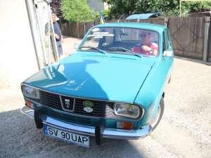 Dacia 1300 cu care Dănuţ Crainiciuc va pleca în turul de 7.000 de kilometri