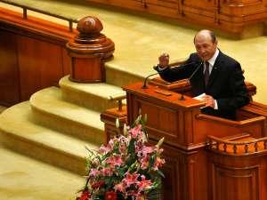 """Băsescu: """"Suspendarea are ca obiective punerea sub controlul PSD şi PNL a instituţiilor"""". Foto: MEDIAFAX"""