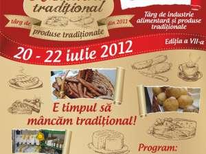 "Târgul ""Alimenta Tradiţional"", la Shopping City Suceava"
