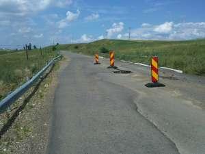 Drumul este încă în garanţie