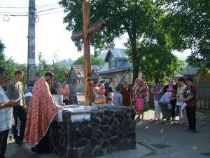 Comemorare în vatra satului
