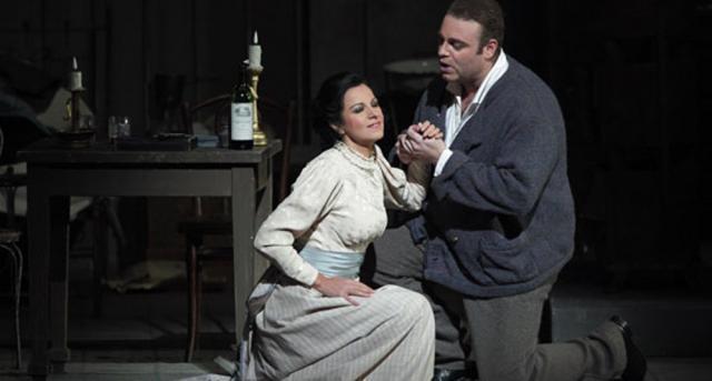 "Angela Gheorghiu, la prima reprezentaţie cu ""La Boheme"" la Munchen"