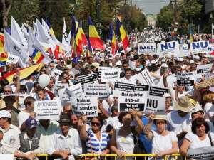 3.000 de suceveni, la mitingul de susţinere a lui Traian Băsescu de la Iaşi. Foto: MediaFax