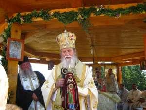 Slujba de Sf. Ilie de la Mănăstirea Piatra Tăieturii, oficiată de ÎPS Pimen