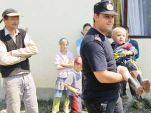 Noul purtător de cuvânt al ISU Suceava, după misiunea de salvare din 2010