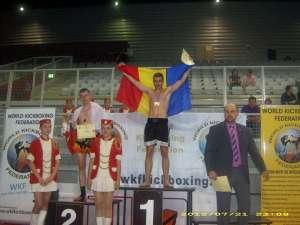 Suceveanul Andrei Ostrovanu a reuşit să devină campion mondial WKF în K-1