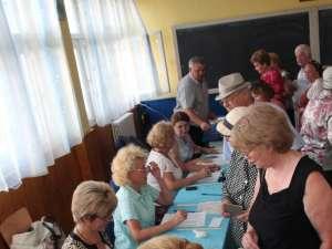 BEC: 45,92% - prezenţa la vot la închiderea urnelor