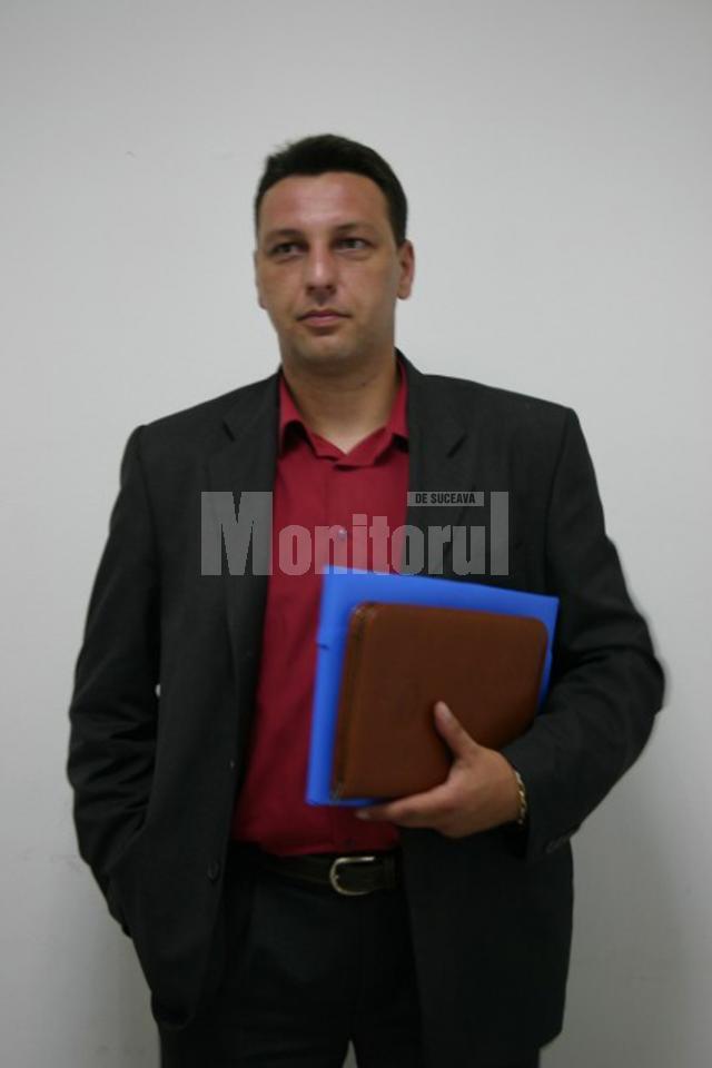 """Cristian Macsim, nou şef al Serviciului de Informaţii şi Protecţie Internă (SIPI) Suceava, mai cunoscut sub denumirea de """"Doi şi un sfert"""""""