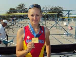 Suceveanca Irina Dorneanu luptă pentru aurul olimpic la Londra