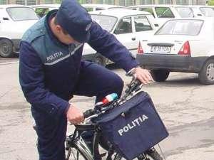 Bicicleta trebuia să fie la Postul de Poliţie Arbore, însă a fost găsită la Brodina