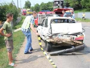 Accident mortal petrecut luna trecuta la Adâncata
