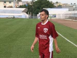 Semeghin a înscris singurul gol al Rapidului în amicalul cu FC Botoşani