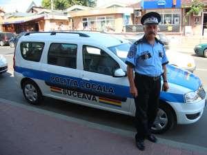 Patru autoturisme Dacia Logan MCV, cu şapte locuri, au intrat în dotarea Poliţiei Locale Suceava