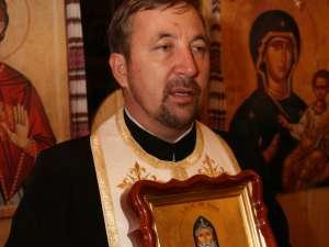 Parohul bisericii ucrainene de pe Zamca, preotul Mihai Maghiar