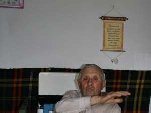 Gheorghe Lauric, acum în vârstă de 82 de ani, a participat efectiv la revolta din 1949