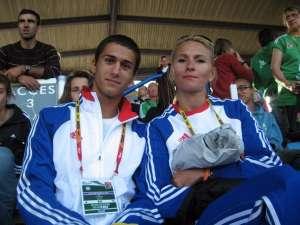 Bogdan Macovei şi Erzilia Ţîmpău, pe vremea când nu aveau griji despre dopaj