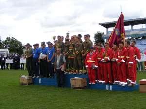 Pompierii voluntari din Brodina, campioni naţionali al doilea an consecutiv
