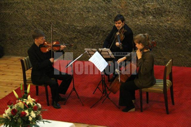 Concertul Icon Arts Trio în Salina Cacica