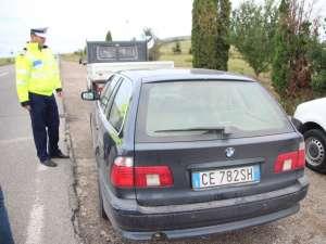Poliţiştii rutieri controlează şi astăzi maşinile înmatriculate în străinătate