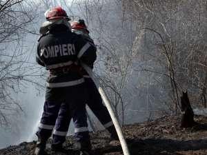 Pompierii au fost solicitaţi să intervină la diferite misiuni: de la incendii, la salvări de animale, persoane blocate în casă,