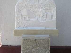 Primăria Vama a primit în dar o sculptură din partea comunităţii din localitatea franceză Eybens
