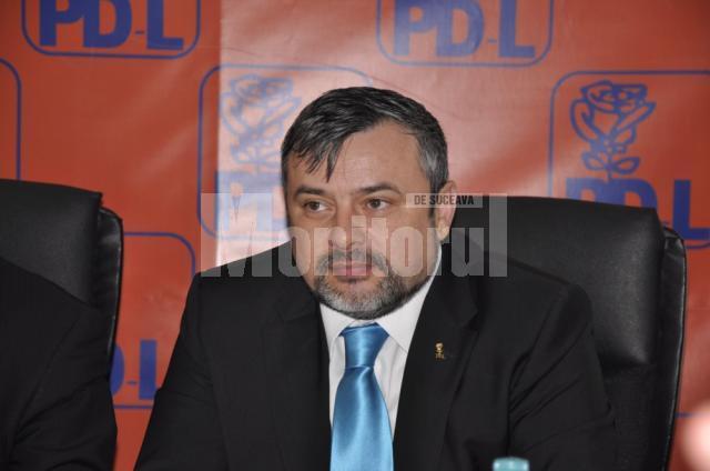 Secretarul general al Organizaţiei Judeţene a PDL, deputatul Ioan Bălan