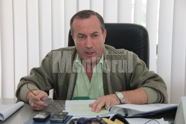 Vasile Schipor, directorul Direcţiei pentru Agricultură şi Dezvoltare Rurală Suceava